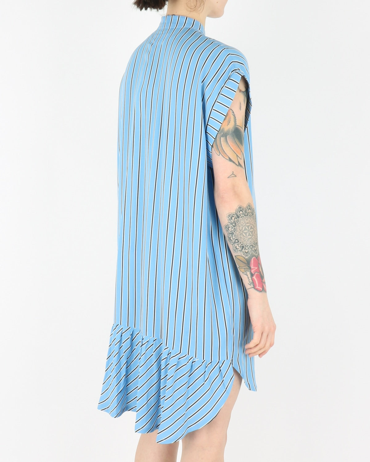 libertine libertine_exist dress_colonial blue stripe_view_3_3
