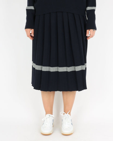libertine libertine_guide skirt_dark navy grey melange_1_3