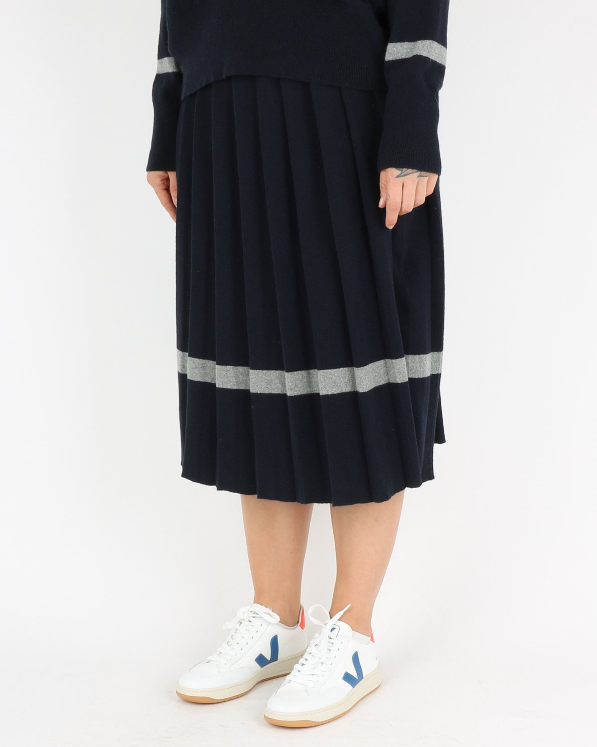 libertine libertine_guide skirt_dark navy grey melange_2_3