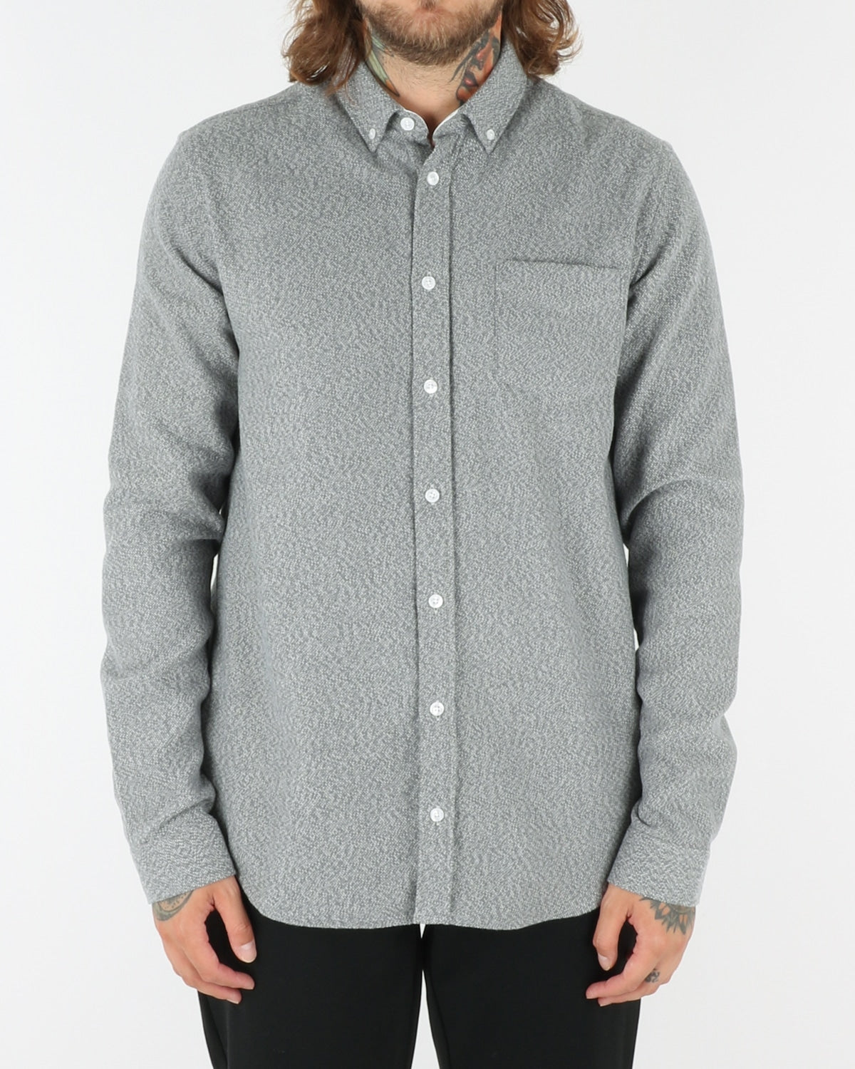 libertine libertine_hunter draper_shirt_grey_view_1_3