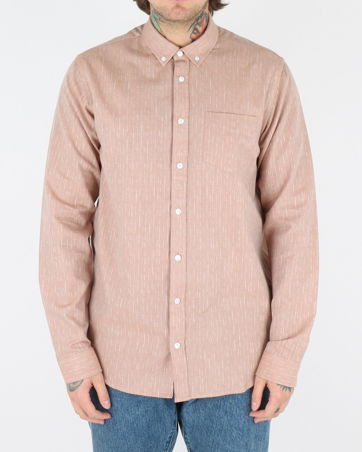 libertine libertine_hunter shirt_ochre_view_1_3