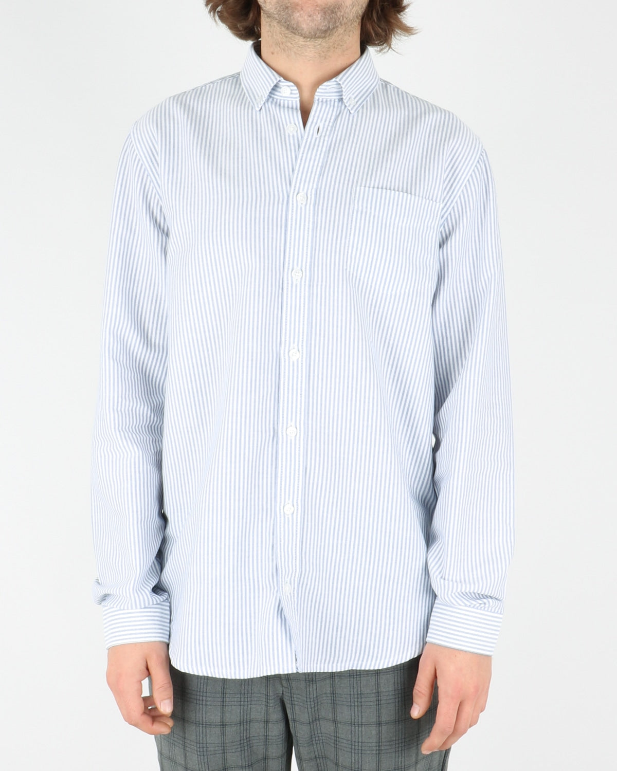 libertine libertine_hunter shirt_white w. blue stripes_1_4
