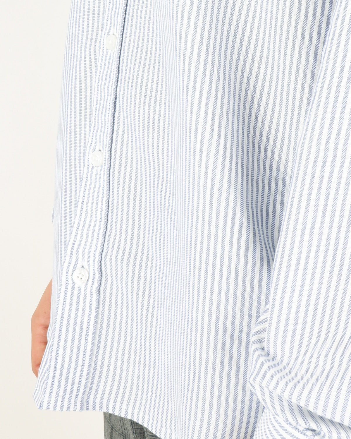 libertine libertine_hunter shirt_white w. blue stripes_4_4