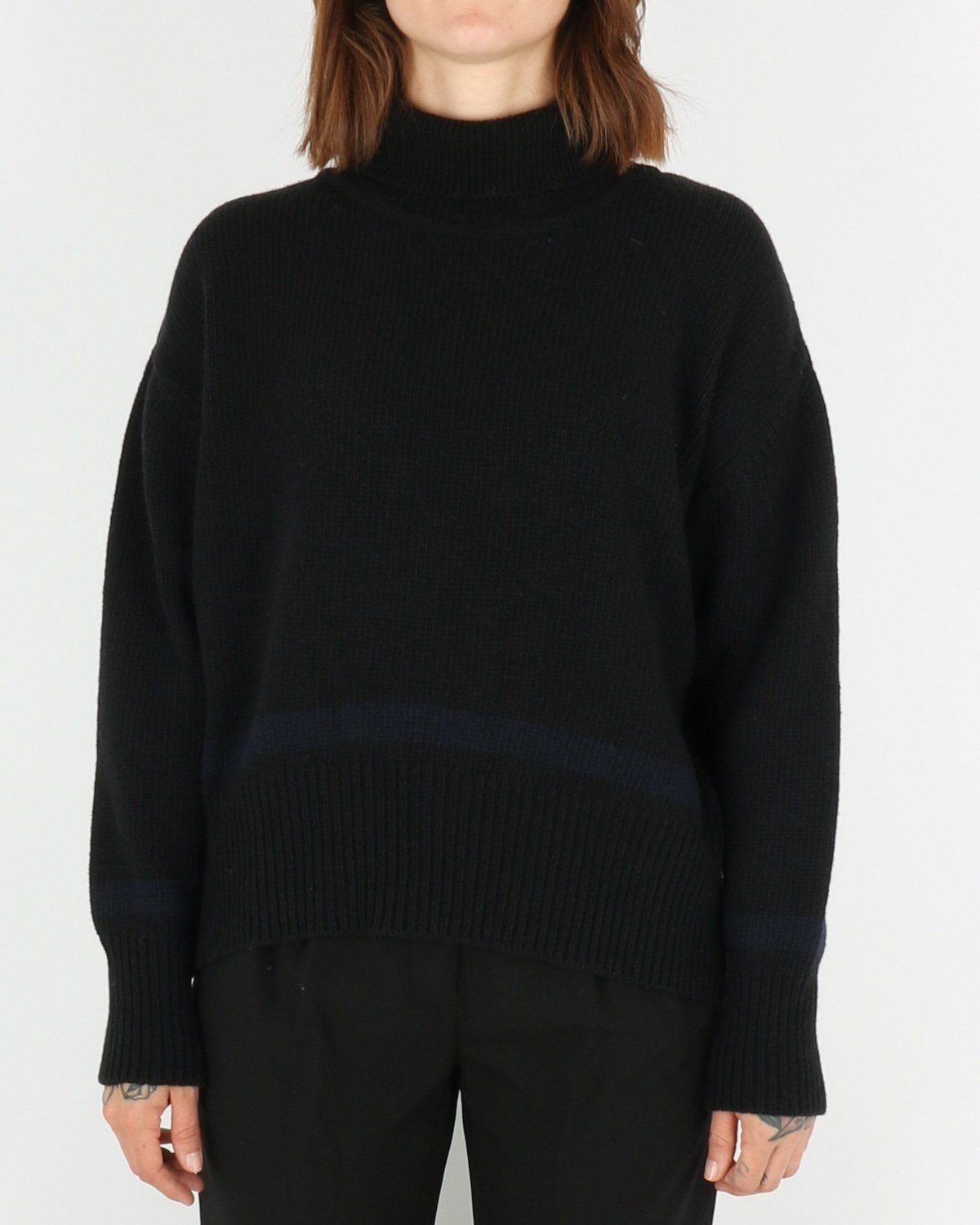libertine libertine_husky knit_black blue_1_4