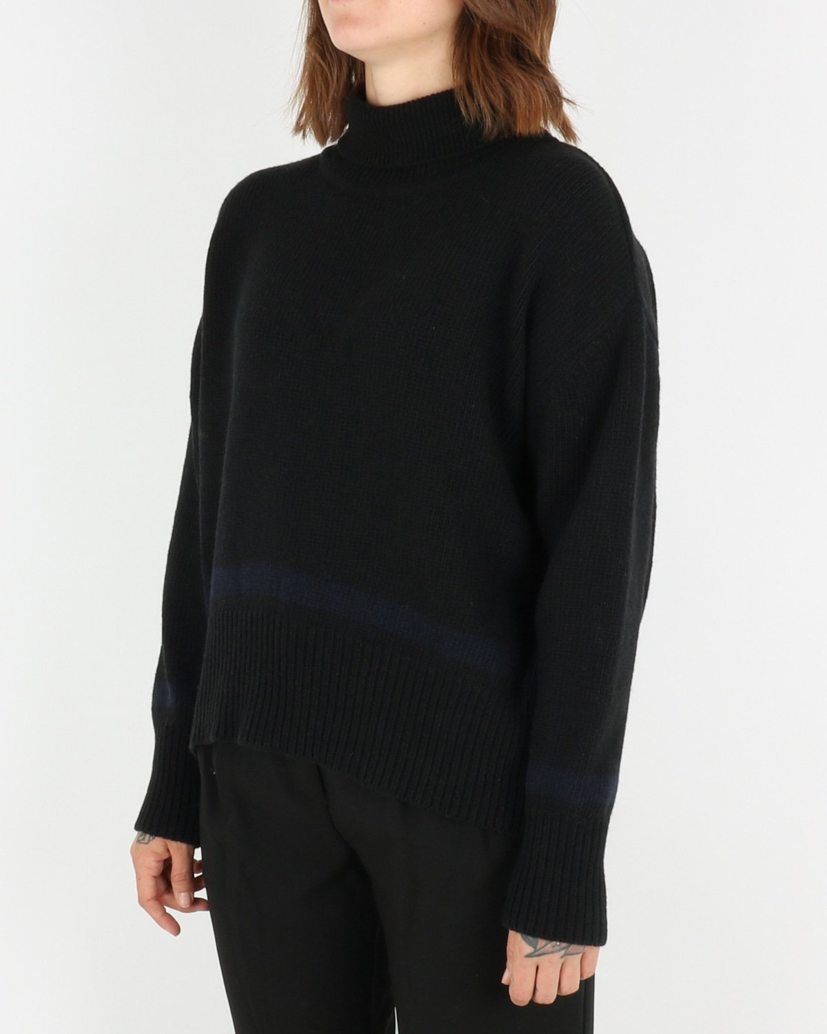 libertine libertine_husky knit_black blue_2_4