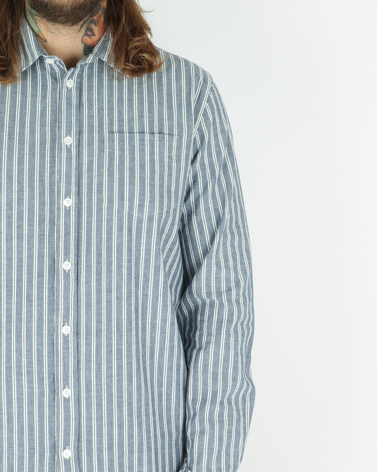 libertine libertine_lynch shirt_navy stripe_view_2_3