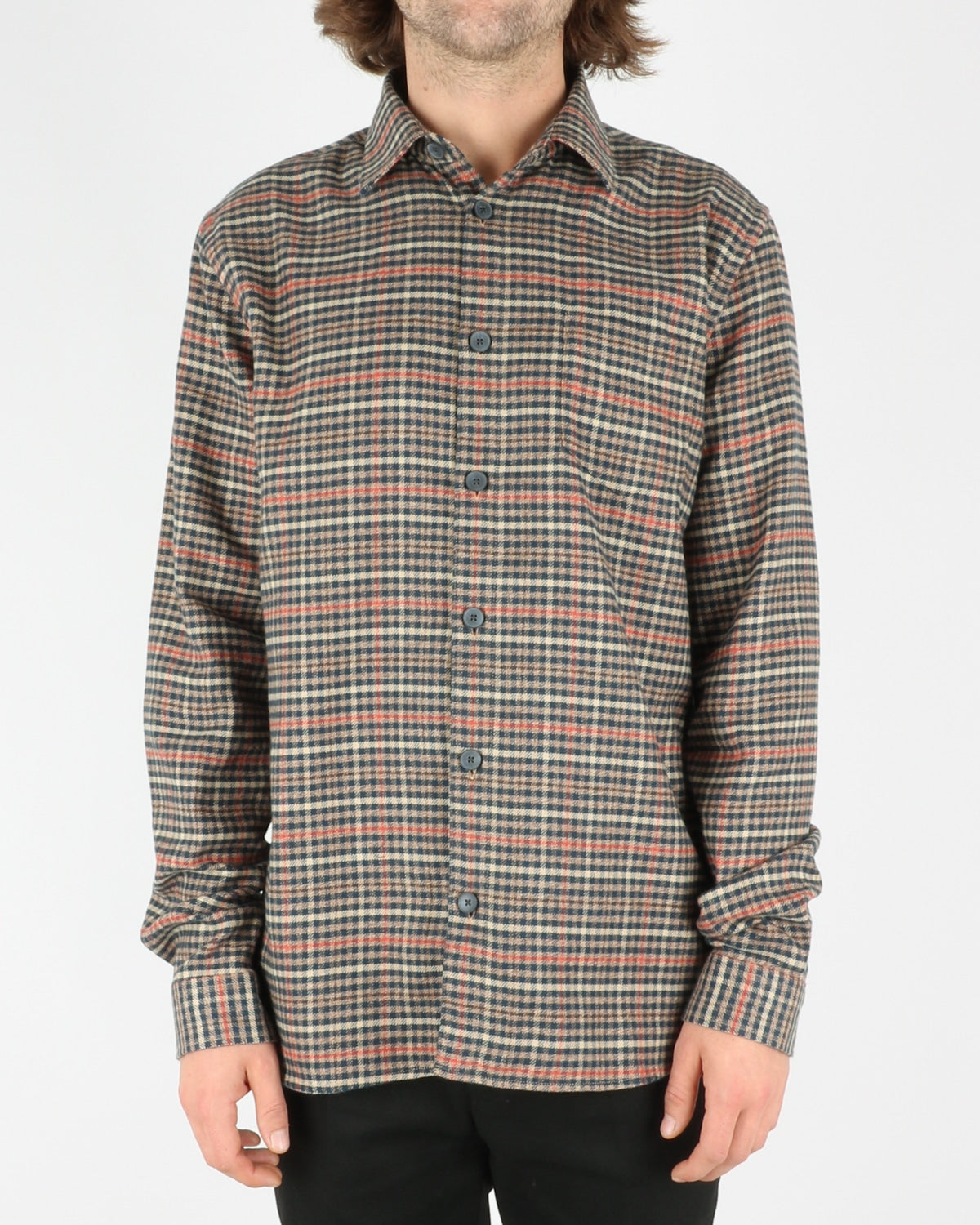 libertine libertine_miracle shirt_twill red check_1_5