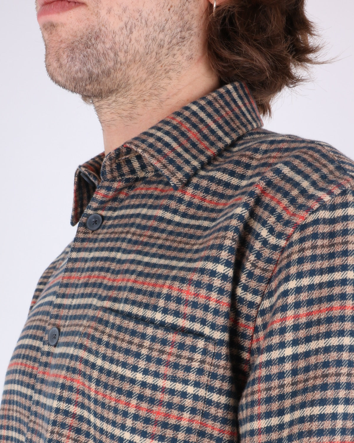libertine libertine_miracle shirt_twill red check_3_5