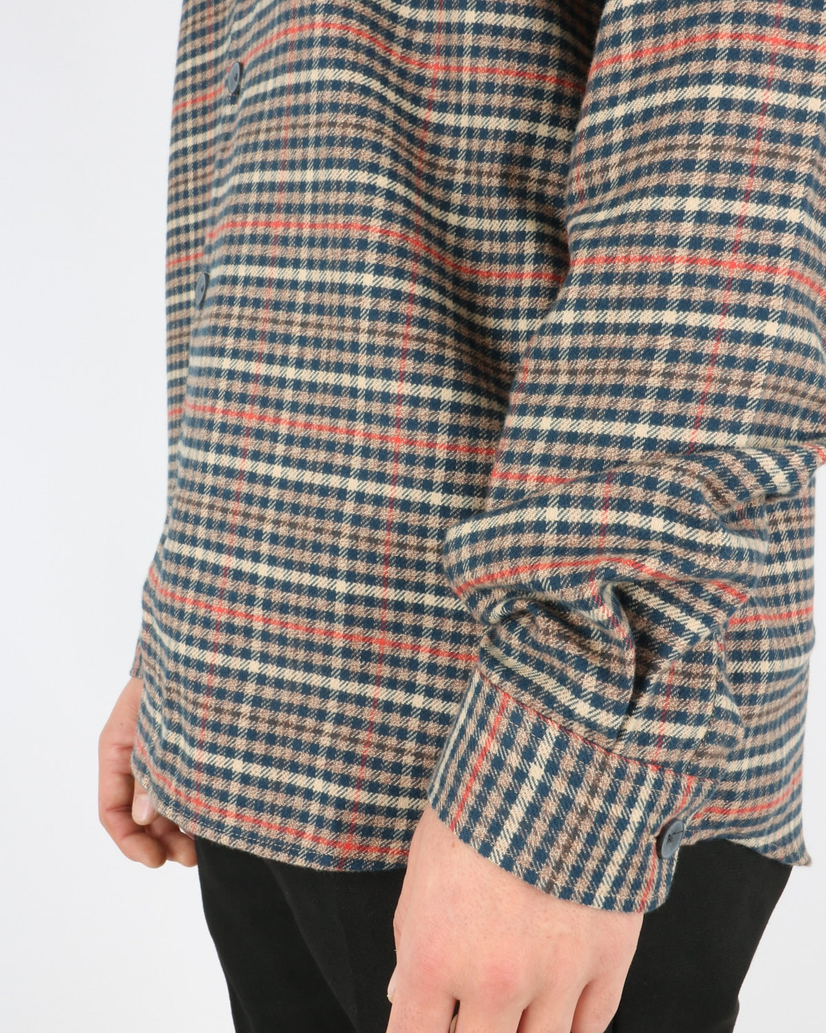 libertine libertine_miracle shirt_twill red check_4_5