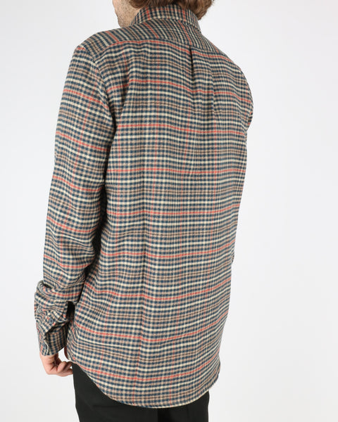 libertine libertine_miracle shirt_twill red check_5_5