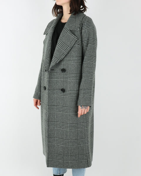 Libertine Libertine Race Coat, grey black