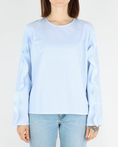 libertine libertine_rise blouse_light blue white_view_1_3