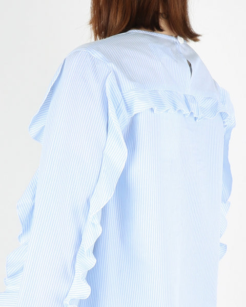 libertine libertine_rise blouse_light blue white_view_3_3