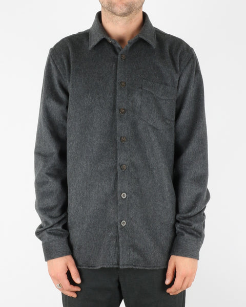 libertine libertine_miracle shirt_dark grey melange_1_4