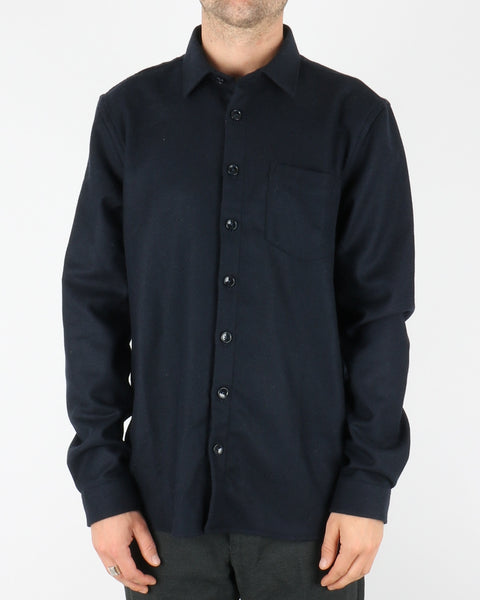 libertine libertine_miracle shirt_dark navy twill_1_4