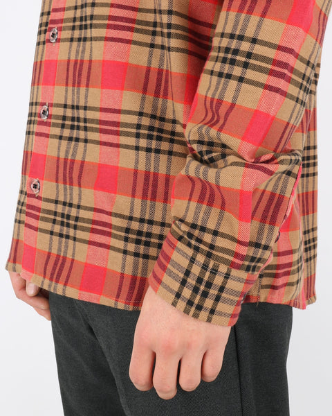 libertine libertine_novel shirt_chinese red check_4_4