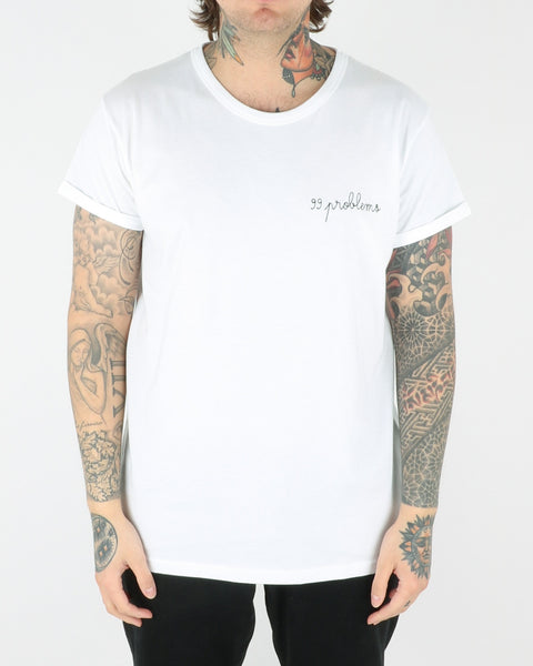 maison labiche_99 problems_tee t-shirt_white_view_1_2