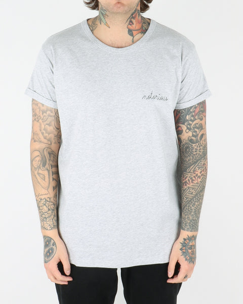maison labiche_notorious tee t-shirt_grey_view_1_2
