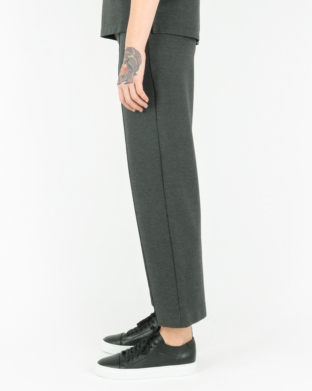 norse projects_elly firm jersey pants_charcoal melange_view_3_3