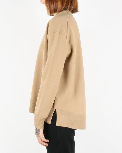 norse projects_olena boiled pullover_camel_view_3_3