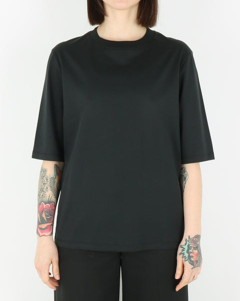 norse projects women_ginny pima cotton t-shirt_black_view_1_2