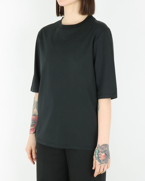 norse projects women_ginny pima cotton t-shirt_black_view_2_2