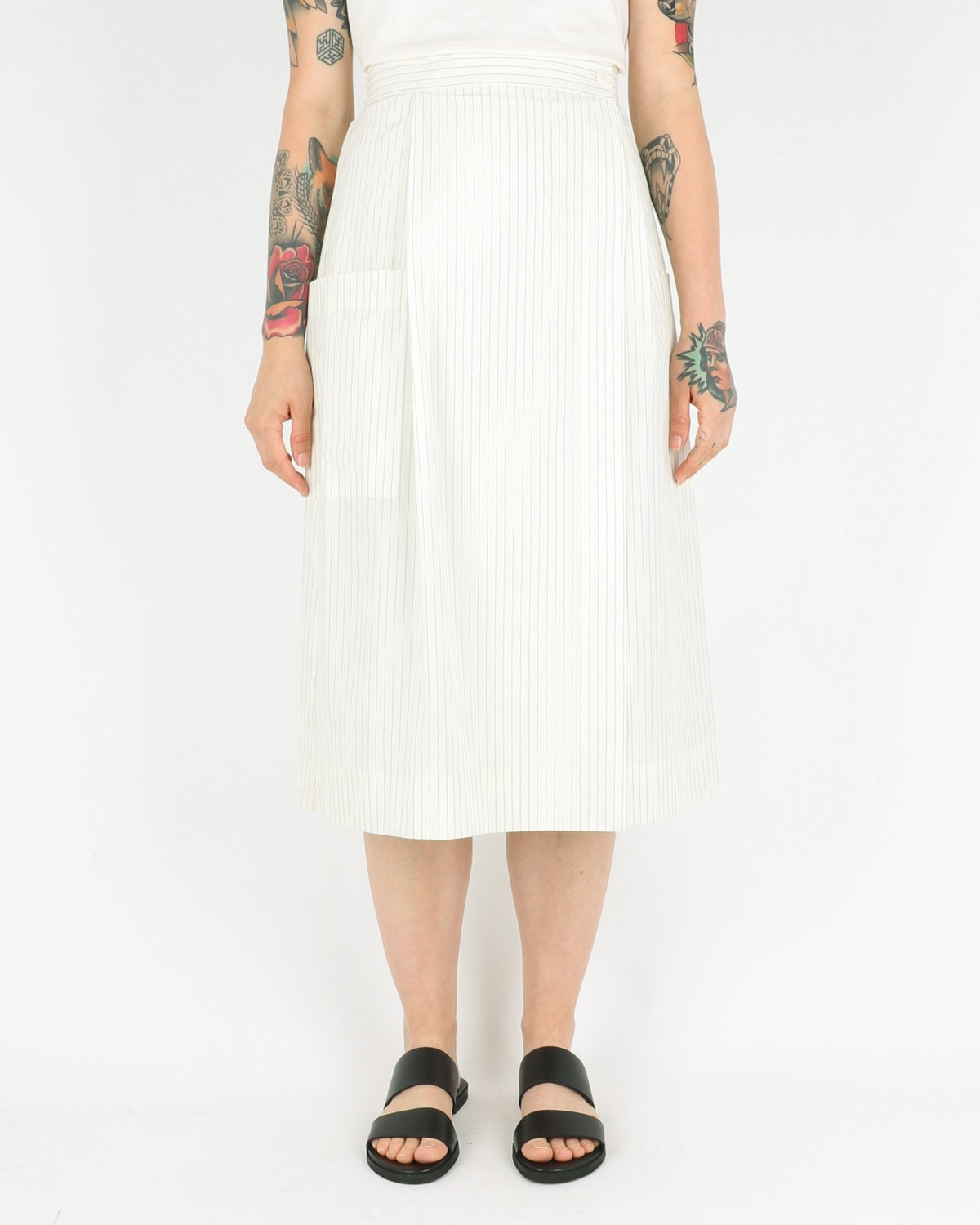 norse projects women_julietta light cotton skirt_ecru_view_1_3