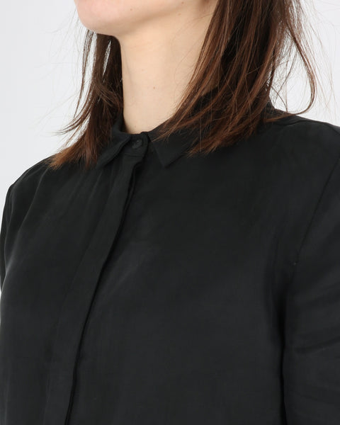 pop cph_cupro & silk boxy shirt_black_3_3