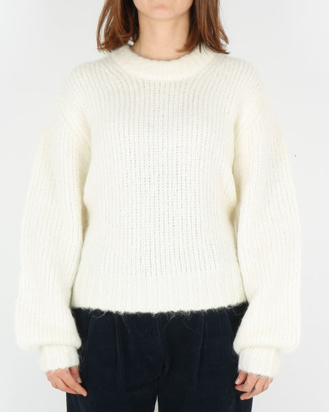 samsoe samsoe_abby crew neck_clear cream_1_4