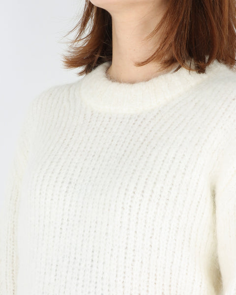 samsoe samsoe_abby crew neck_clear cream_4_4