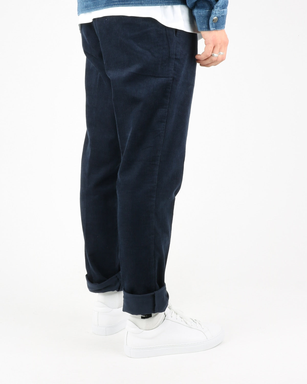 samsoe samsoe_laurent trousers_night sky_3_4