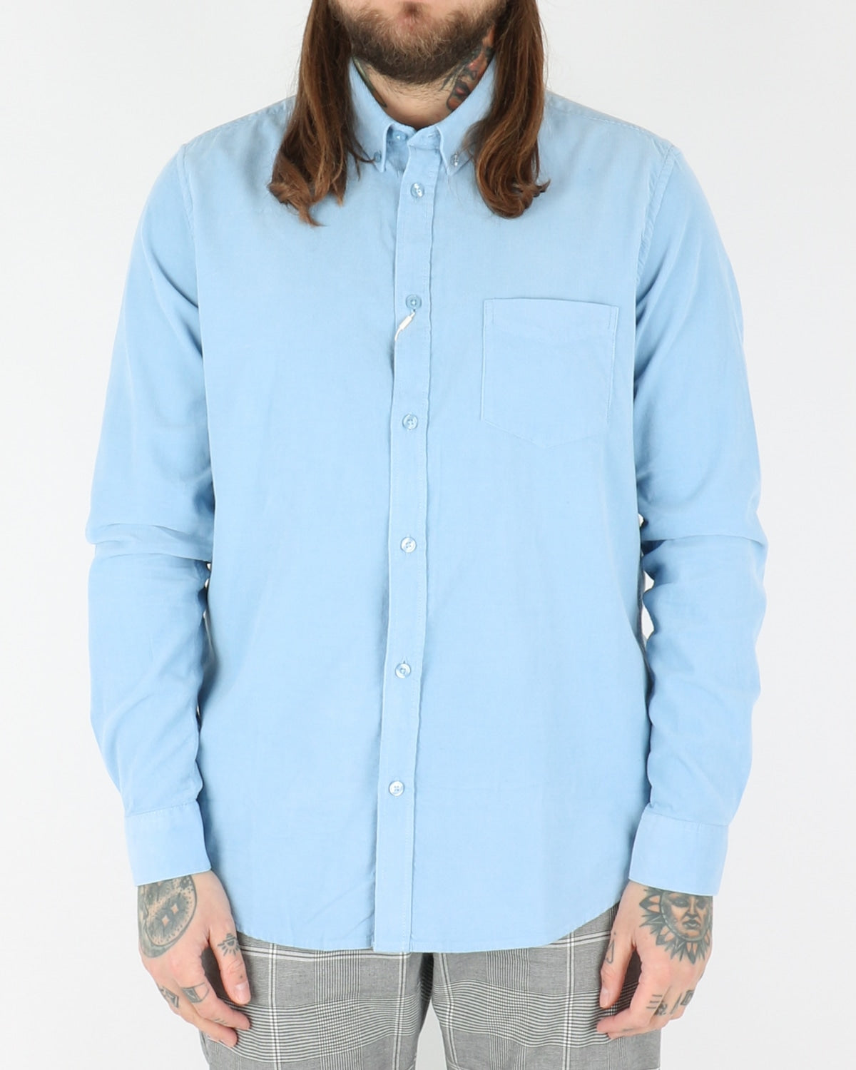 samsoe samsoe_liam shirt_bel air blue_view_1_3