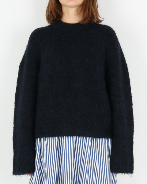 samsoe samsoe_tessa short crew neck_night sky_1_4