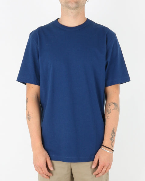 samsoe samsoe_hugo t-shirt_blue depths_1_3