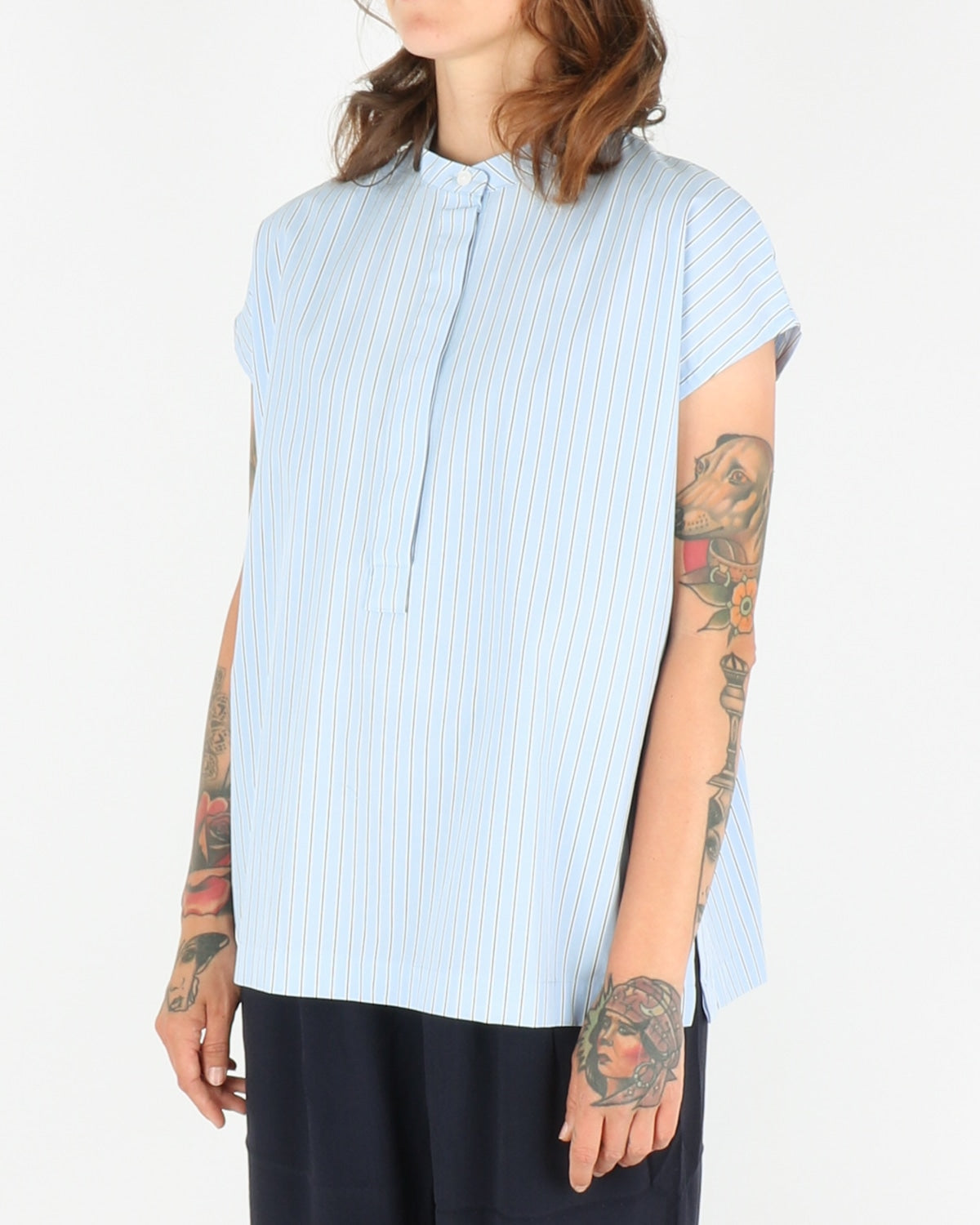samsoe samsoe_laury shirt_blue stripe_2_4