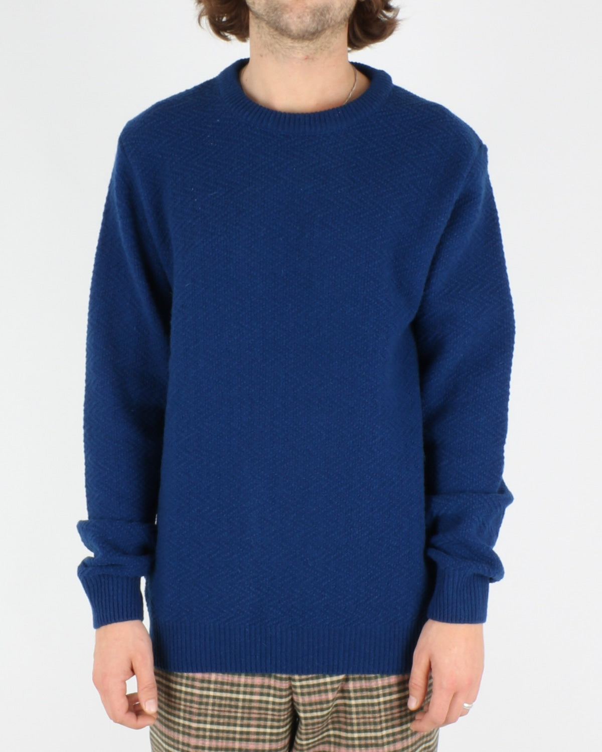 soulland_cassidy herringbone sweater_blue_1_4