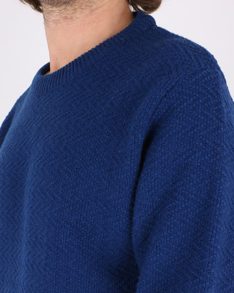 soulland_cassidy herringbone sweater_blue_4_4