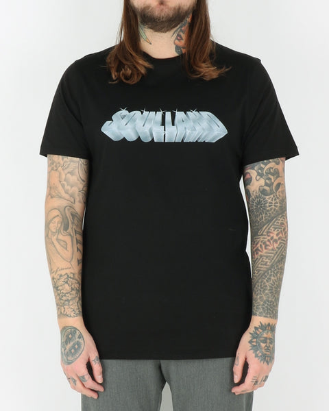 soulland_gus t-shirt_black with print_1_3