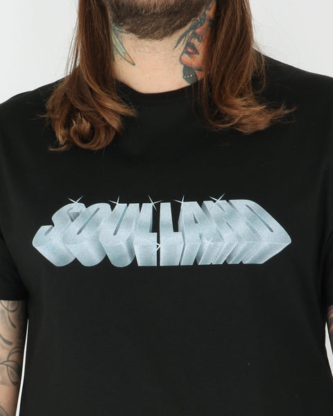 soulland_gus t-shirt_black with print_3_3