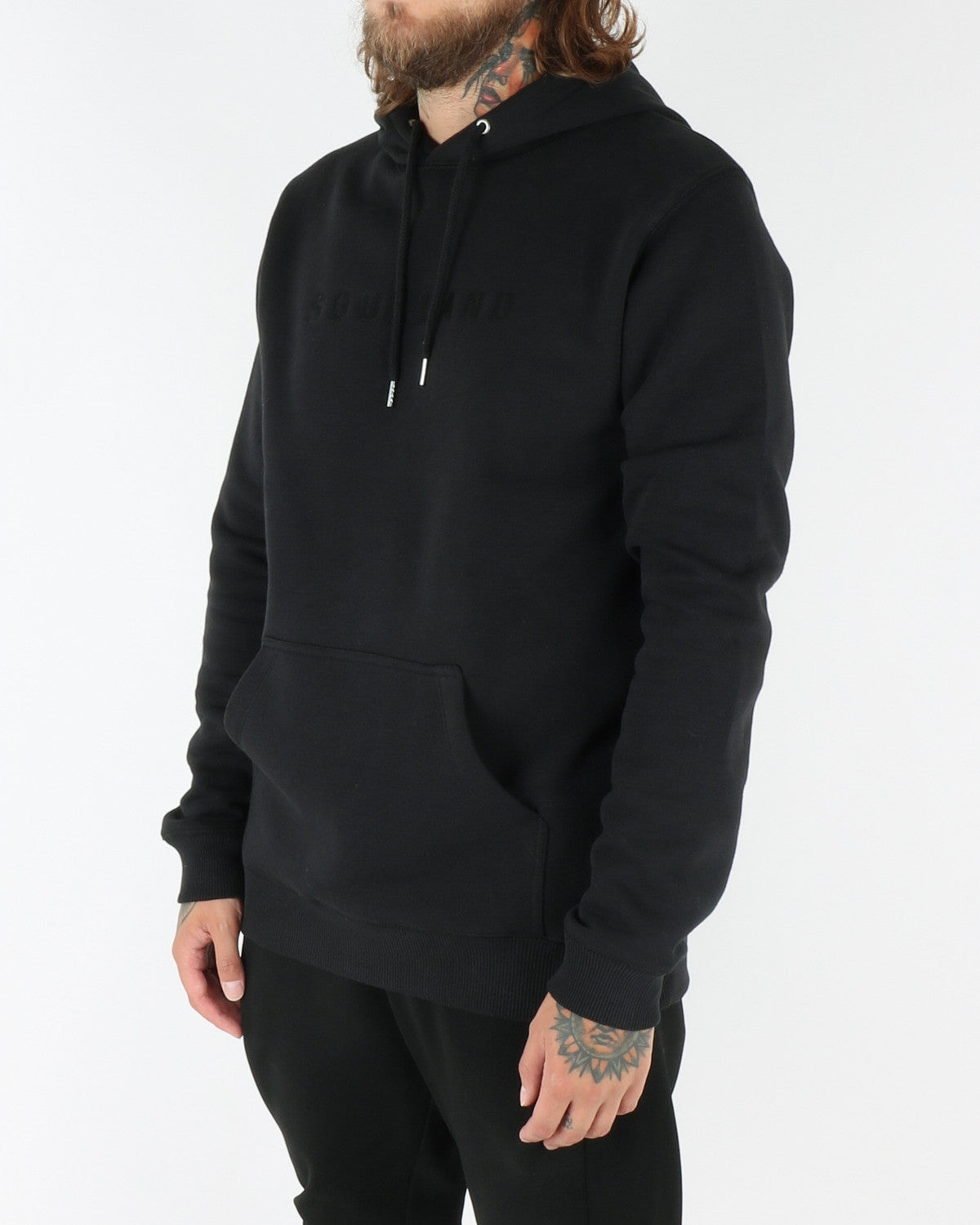 soulland_guy_hooded sweat_black_view_2_3