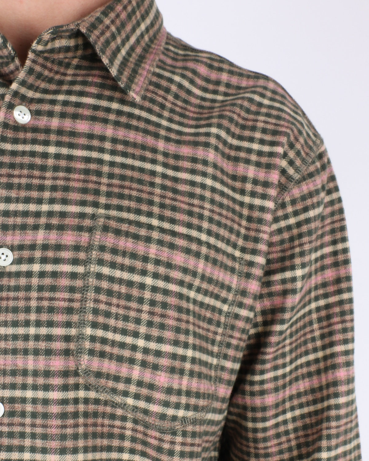 soulland_logan flannell shirt_multi_3_4