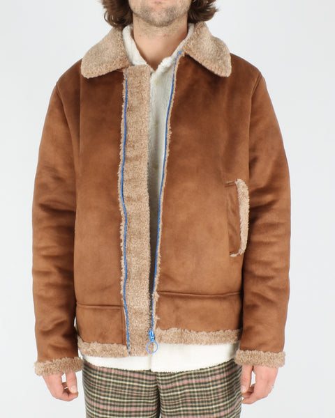 soulland_max faux sherling jacket_brown_6_6