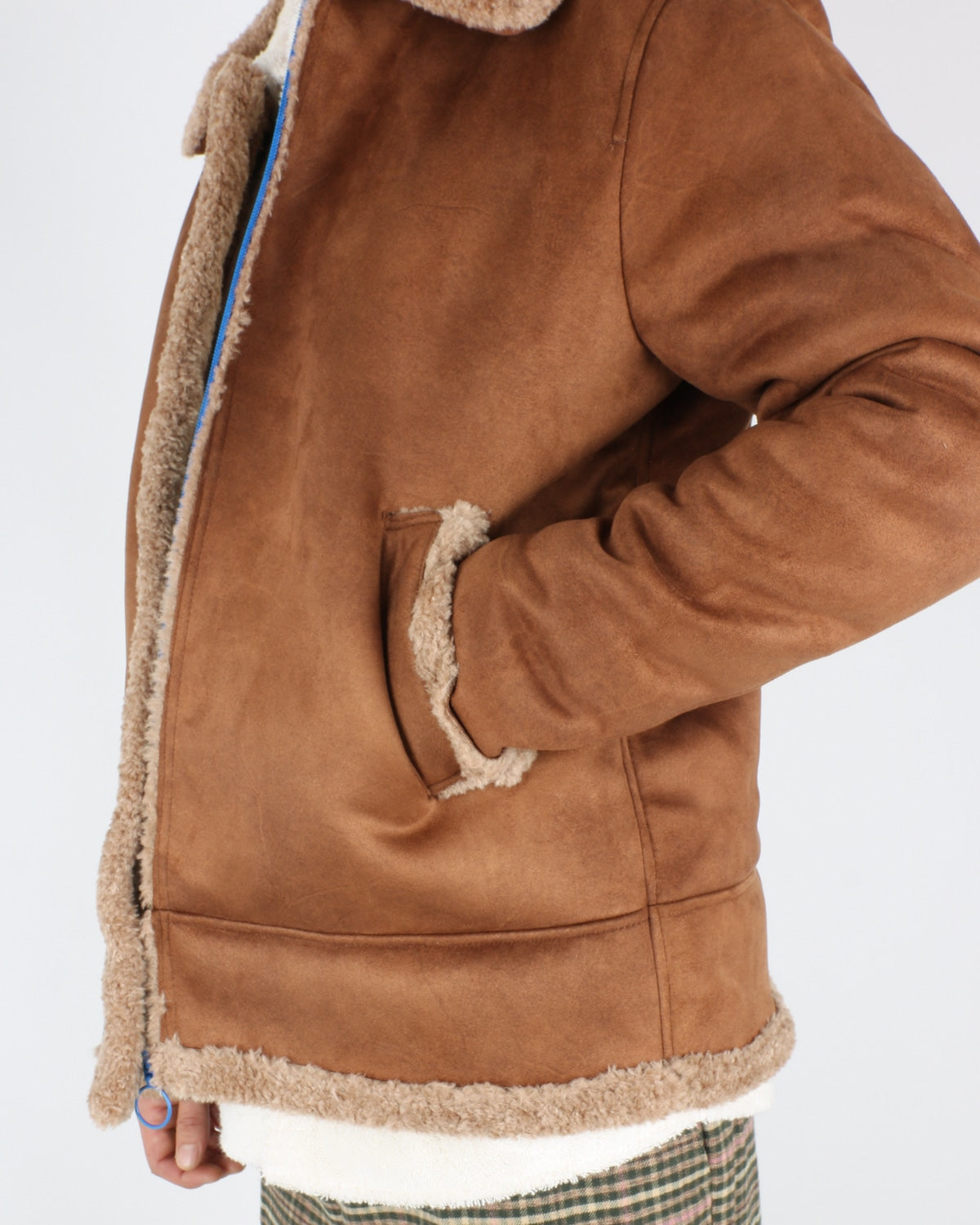 soulland_max faux sherling jacket_brown_3_6