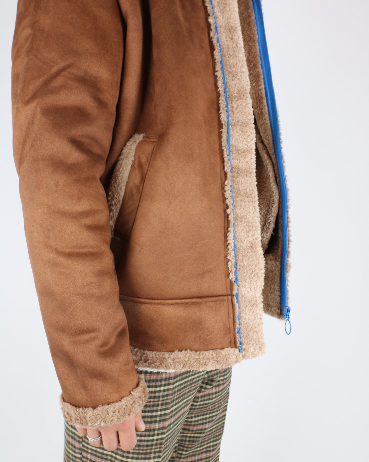 soulland_max faux sherling jacket_brown_4_6