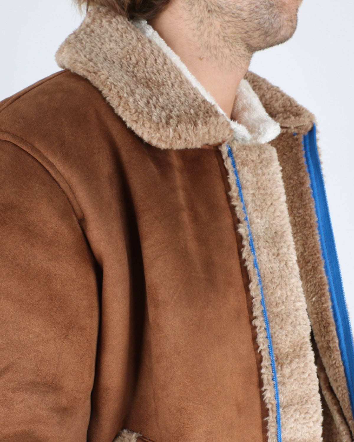 soulland_max faux sherling jacket_brown_5_6