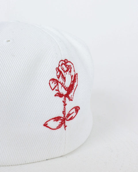 soulland_polle 6 panel cap_black embroidery_white_detail_3_3