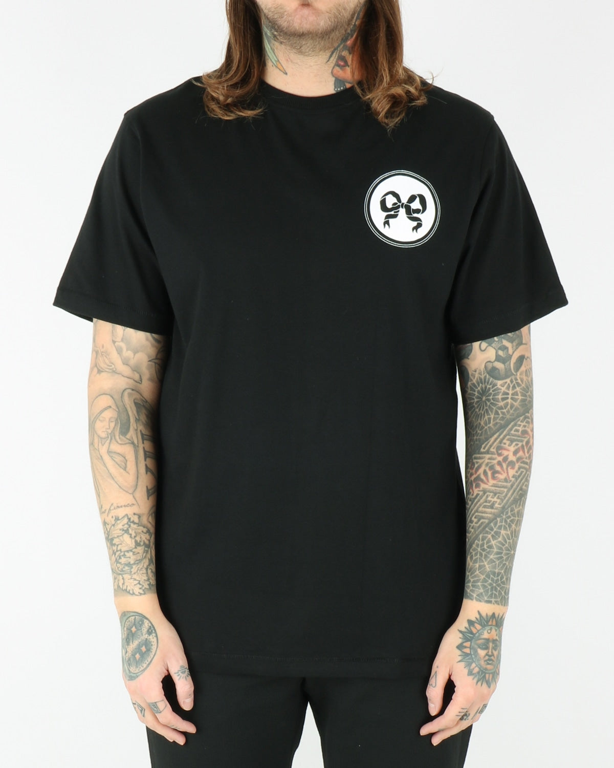soulland_ribbon t-shirt_black_view_2_3