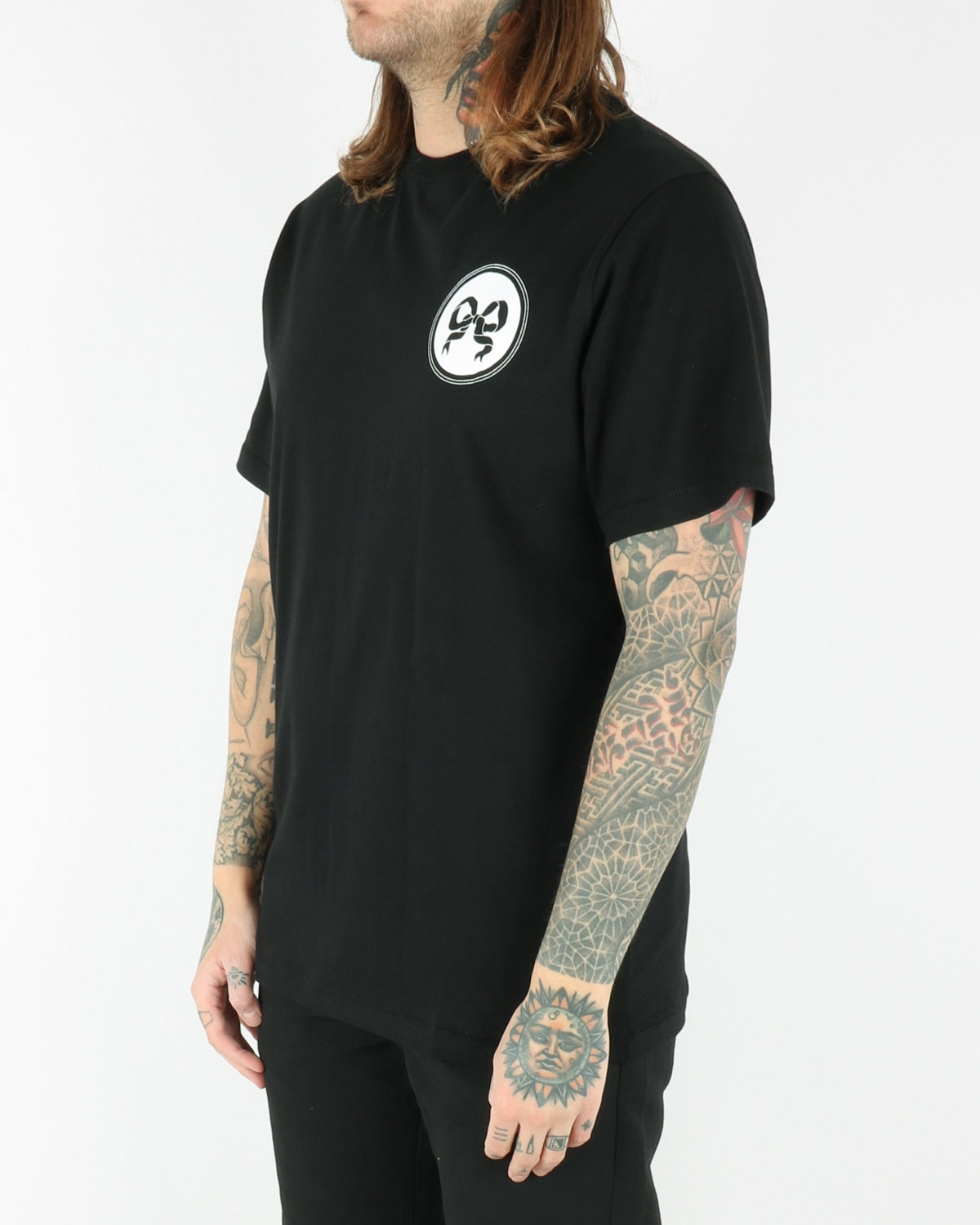soulland_ribbon t-shirt_black_view_1_3