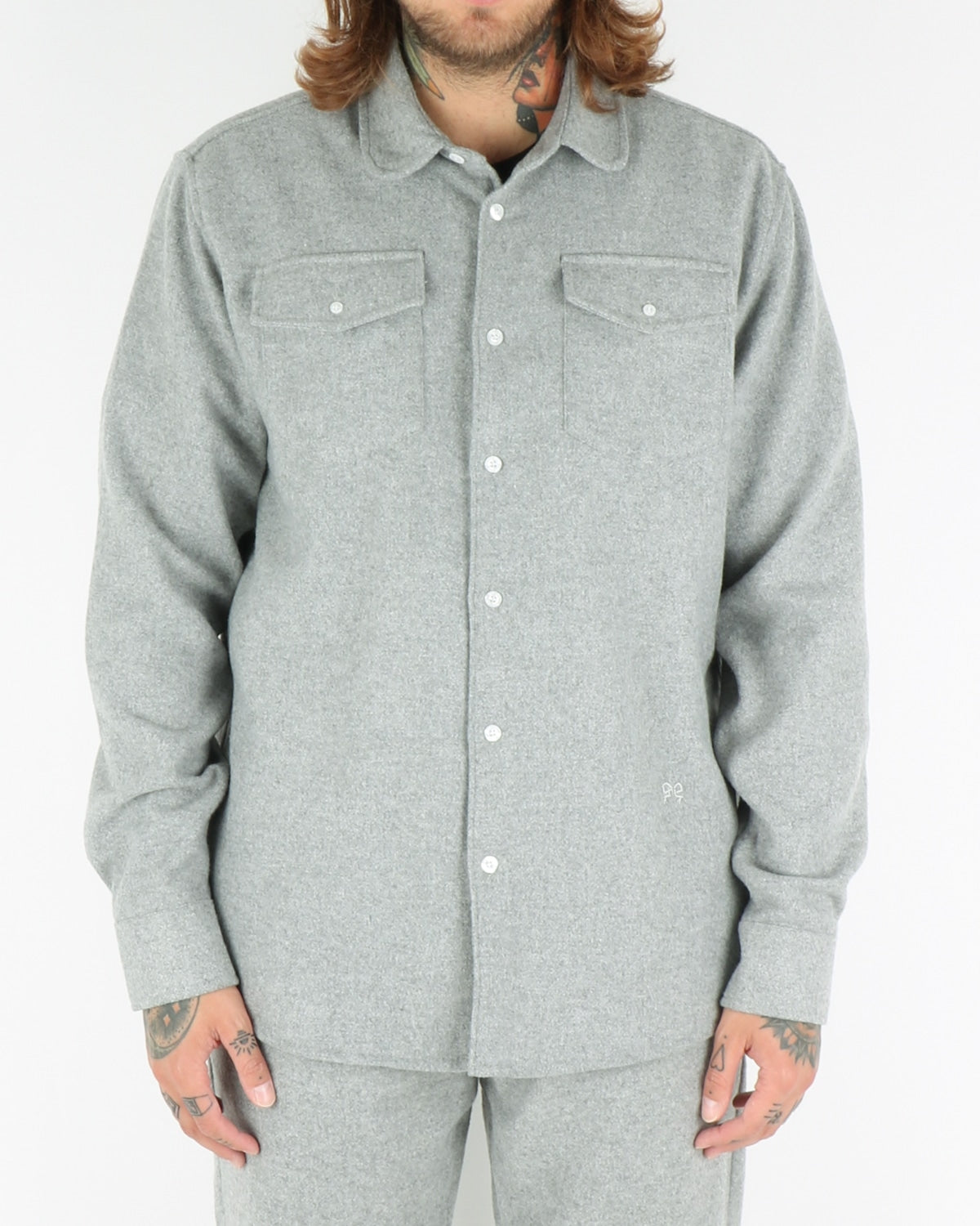 soulland_tom western shirt_grey_view_1_3