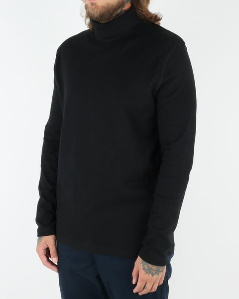 wac we are copenhagen_belushi roll neck_sweatshirt_black_view_2_2